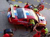 VDS Racing Adventures team pit stop — Stock Photo
