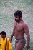 Desi Wrestler — Stock Photo