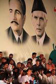 Chairman Pakistan Tehreek-e-Insaf Imran Khan — Stock Photo