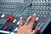 Audio Sound Mixing — Stockfoto