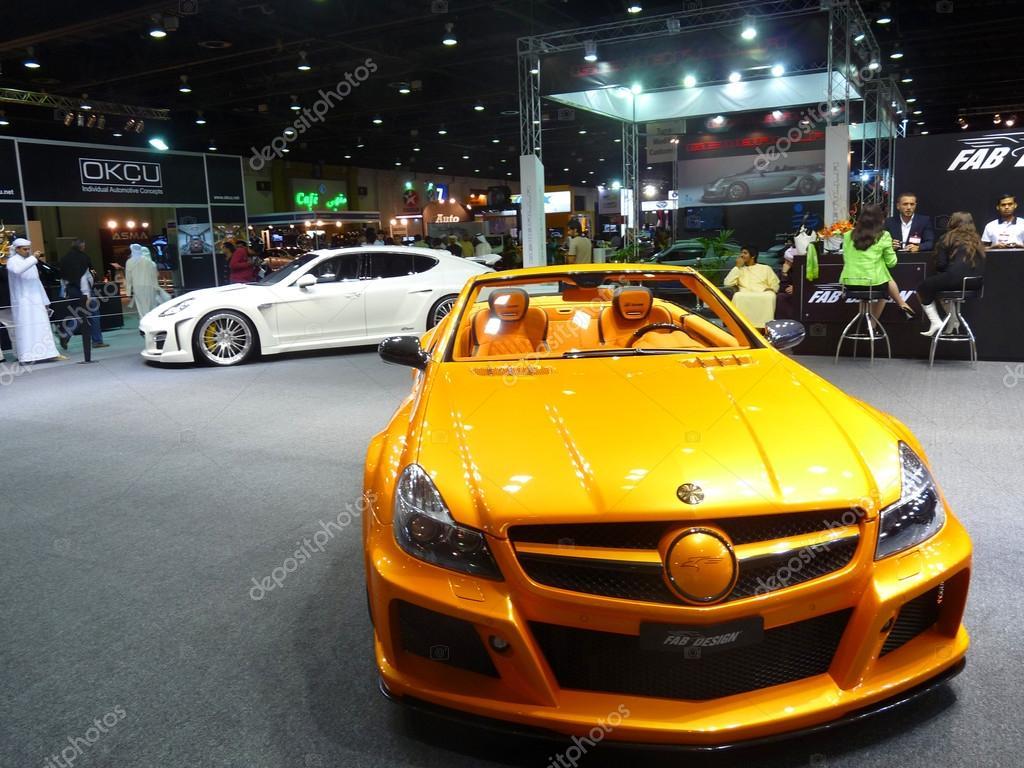 Custom Luxury Cars On Display