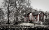 Old farmhouse — Stock Photo