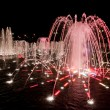 Night fountain in Tsaritsino — Stock Photo