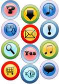 Buttons for the Internet and web-design — Stock Vector