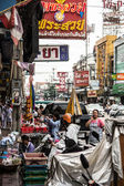 Busy street of thailand — Stock Photo