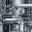 Stock Photo: Refinery piping