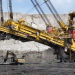 Coal mining — Stock Photo #48543213