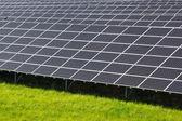 Estação de energia solar — Fotografia Stock