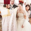 Orthodox wedding ceremony — Stock Photo