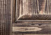 Holz mit dunklen braunen farbe getönt — Stockfoto