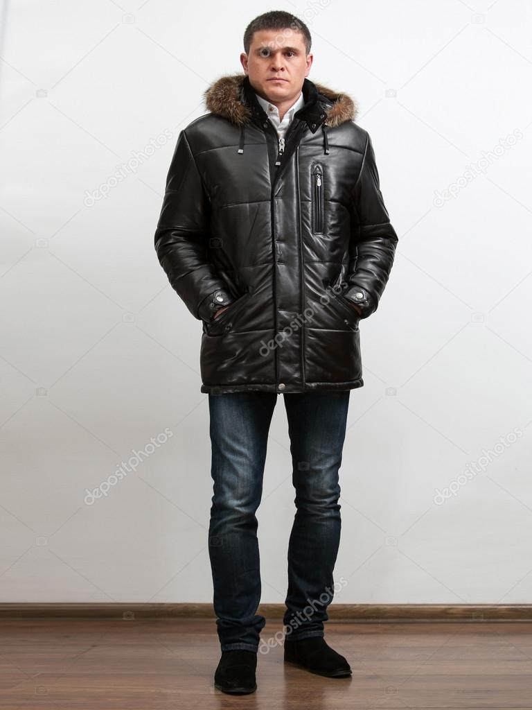 男生冬季生活照