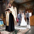 Stock Photo: Orthodox wedding ceremony i