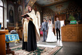 Orthodox wedding ceremony i — Stock Photo