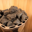 Photo of sauna granite rocks — Stock Photo