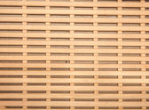 Photo of brown wooden grid — Stock Photo