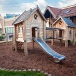 Big wooden playground at shopping mall — Stock Photo #50040341