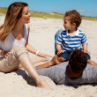 Stockfoto: Couple Spending Summer with Son