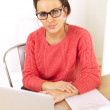 Young Professional Working at Home - Stock Photo