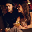 Young Couple Enjoying Their Date with Friends — Stock Photo #22919192