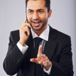 Businessman Having a Conversation on Phone — Stock Photo