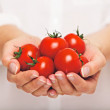 Fresh Tomatoes as an Antioxidant — Stock Photo
