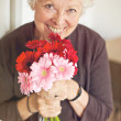 Flowers for a Loving Grandmother on Mother's Day — Stock Photo