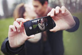 Capturing lovely moments — Stock Photo