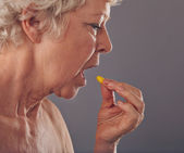 Time for Medication — Stock Photo