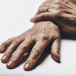 Old woman hands — Stock Photo #51447075