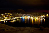 Hammerfest in winter — Stock Photo