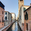 Canal in Venezia — Stock Photo