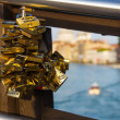 Padlocks of love — Stock Photo