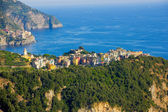 Corniglia from a distance — Stock Photo