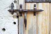 Wrought iron lock — Stock Photo