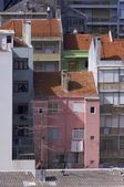 Facades of buildings in lisbon, Portugal — Foto de Stock