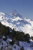 Anayet peak — Stock Photo