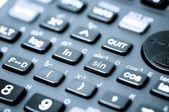 Scientific calculator — Stock Photo