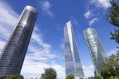 Zona di cuatro torres business — Foto Stock