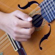 Stock Photo: Spanish guitar
