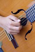 Spanish guitar — Stock Photo