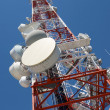 Telecommunications tower — Stock Photo #18269319
