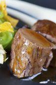 Lamsvlees met jus — Stockfoto