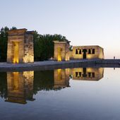 Debod Egyptian Temple — Stock Photo