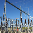 Stock Photo: Electrical substation