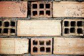 Muro di mattoni — Foto Stock