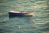 Small wooden boat — Stock Photo
