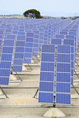 Energia solare — Foto Stock