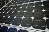 Painel fotovoltaico — Foto Stock