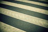 Zebra crossing — Stock Photo