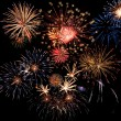 feux d'artifice magnifique — Photo